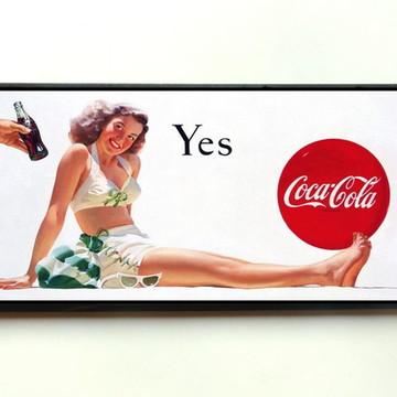 Quadro Coca Cola Yes