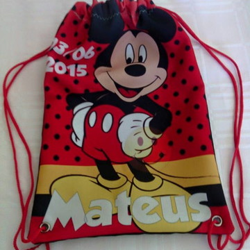 Mochilas Personalizadas - Tema Mickey
