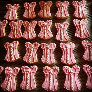 Biscoito decorado Chá de Langerie!!