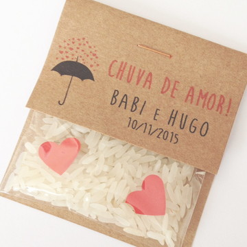Mini Chuva de Arroz Nature