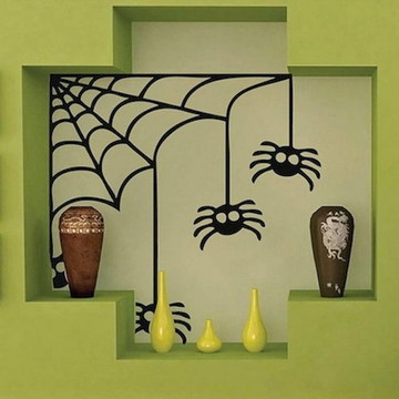 Adesivo Teia de aranhas