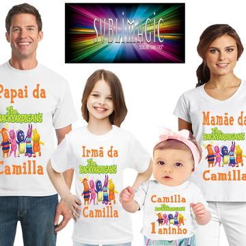 Kit 4 Camisetas Backyardigans