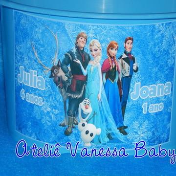 Balde de pipoca Frozen