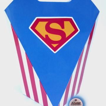Lembrancinha Super Homem Caixinha