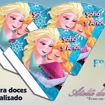 Cone Personalizado - Frozen