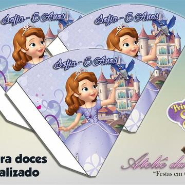 Cone Personalizado - Princesa Sofia