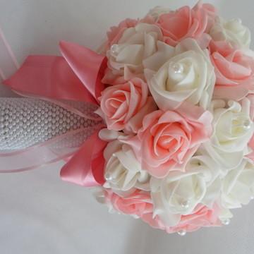 Buque - rosa com branco