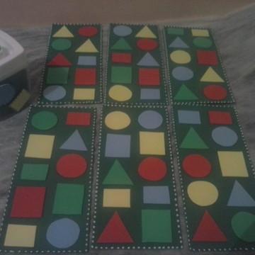 Bingo das Formas Geométricas