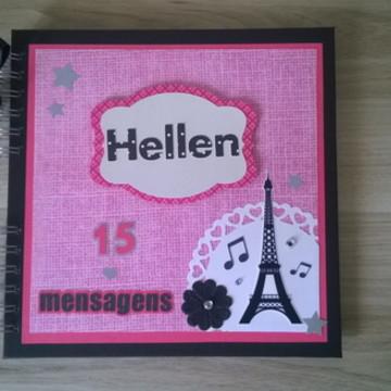 Caderno de Mensagens Paris