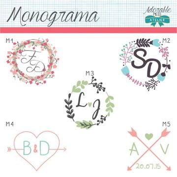 Monograma para Casamentos