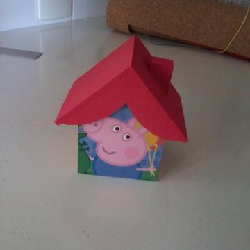 Lembrancinha Casinha Peppa Pig