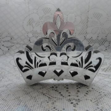 coroa mdf espelhada