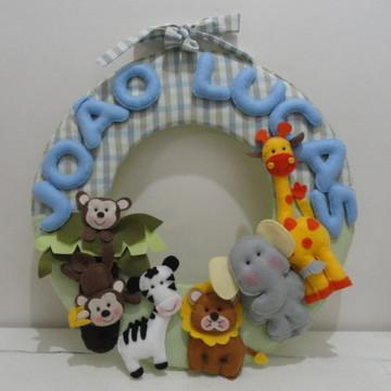 Porta maternidade safari