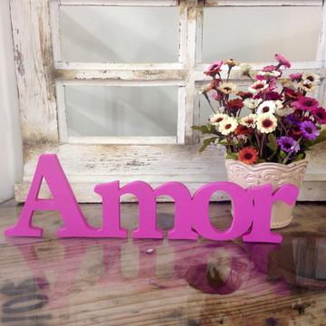 Palavra decorativa Amor - 10cm - 9mm