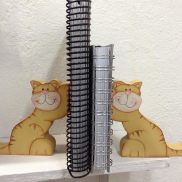 Suporte para livros gato