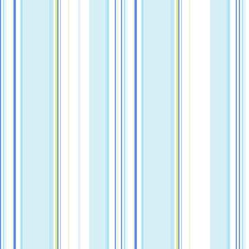 Papel de Parede Listrado Azul