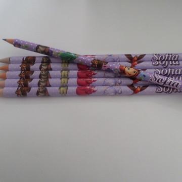 Lápis Personalizados Princesa Sofia
