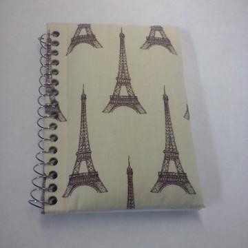 Caderno de anotações Paris
