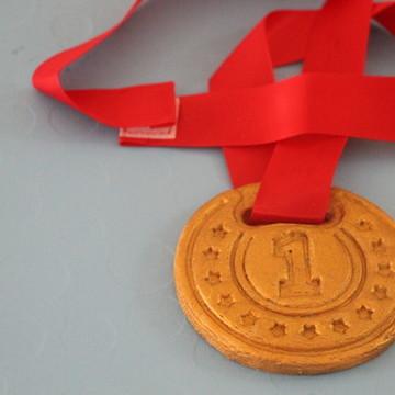 Cookie medalha
