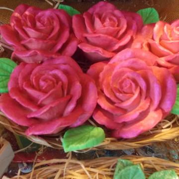 Sabonete Rosa de Marrocos