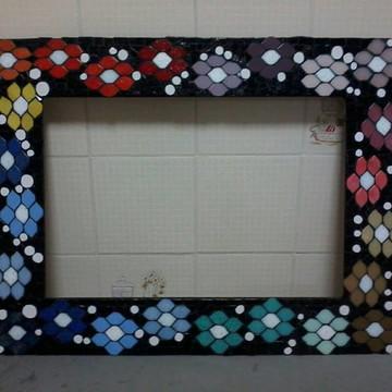 Moldura p espelho mosaico pronta entrega - PROMOÇÃO