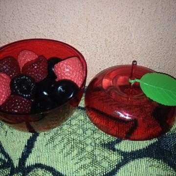 Sabonetes Frutas Vermelhas na Maçã