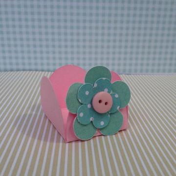 forminha Personalizada Flor