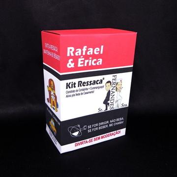 Kit Ressaca Box + Brindes Casamento
