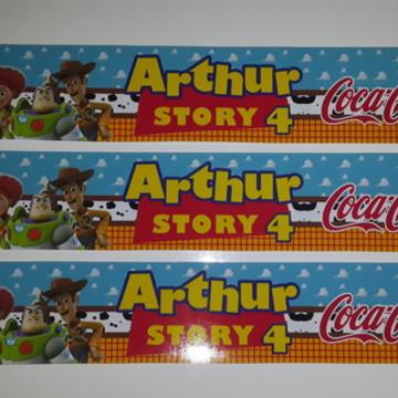 Rótulo refrigerante Toy Story
