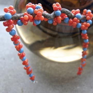 Colar de coral - 'Cobra-Coral'