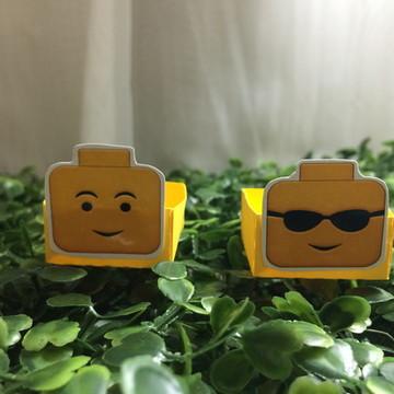 Forminha quadrada lego