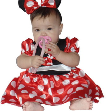Fantasia Minnie Bebê