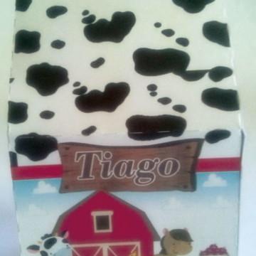 Fazendinha, Caixa leite G Papel FOTO