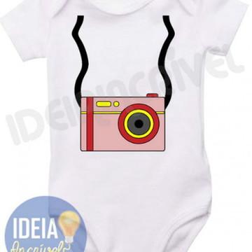 Body Infantil - Mini Fotográfo