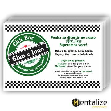 Convite Chá Bar - Heineken