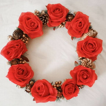 Guirlanda rosas