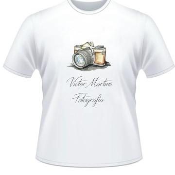 Camiseta Personalizada Fotógrafo