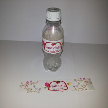 Rótulos refrigerante ou água