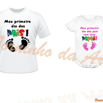Camisetas Personalizadas kit 2 peças