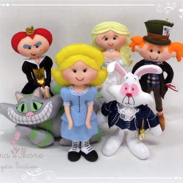 Bonecos Alice No País Das Maravilhas