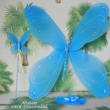 Asa de fada azul (Kit)