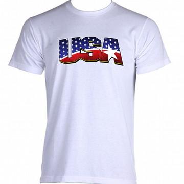 Camiseta Bandeira Estados Unidos 01