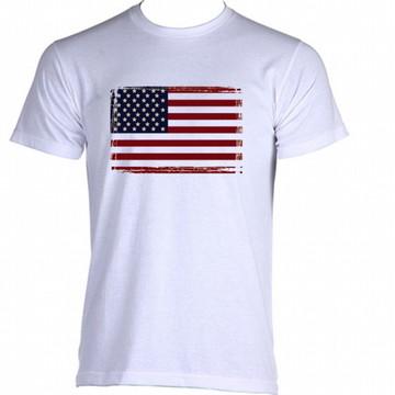 Camiseta Bandeira Estados Unidos 04