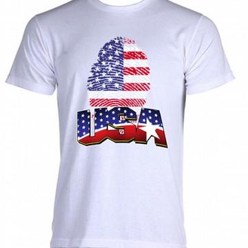 Camiseta Bandeira Estados Unidos 06