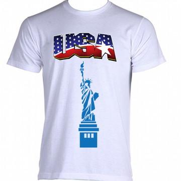 Camiseta Bandeira Estados Unidos 08
