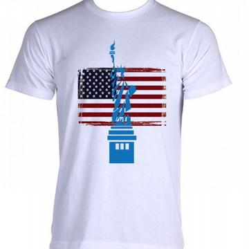 Camiseta Bandeira Estados Unidos 09