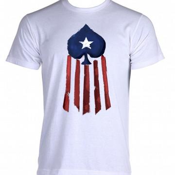 Camiseta Bandeira Estados Unidos 10