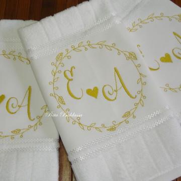 Toalha Lavabo Casamento 341