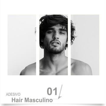 ADESIVO SALÃO BARBEARIA HAIR 01