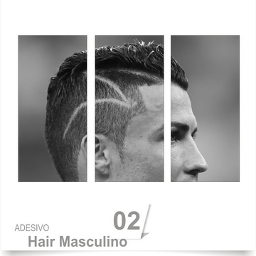 ADESIVO SALÃO BARBEARIA HAIR 02
